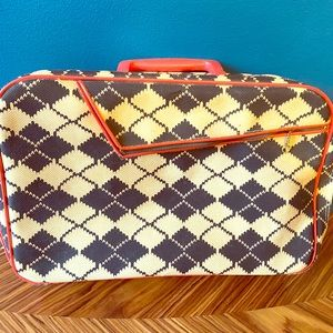 Vintage Youth Park Kids Small Suitcase
